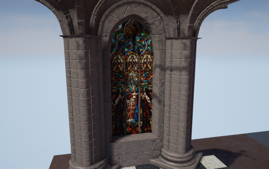 Modular Gothic Cathedral